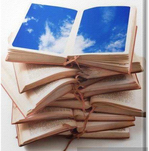 canvas-prints-libri-aperti-con-cielo