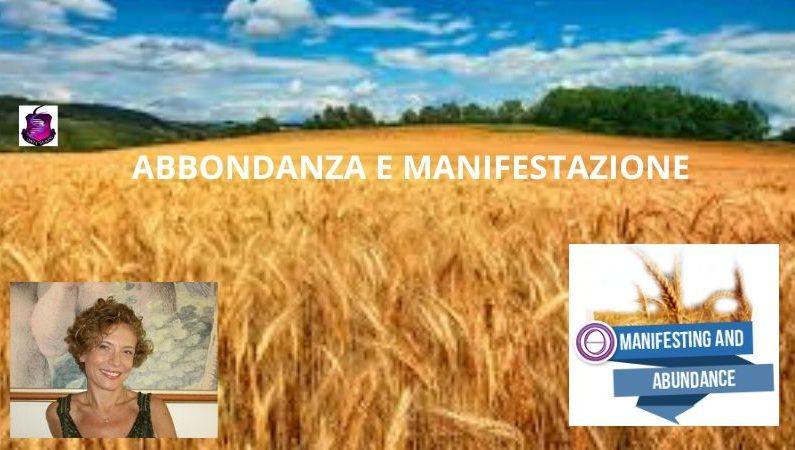 ABBONDANZA E MANIFESTAZIONE